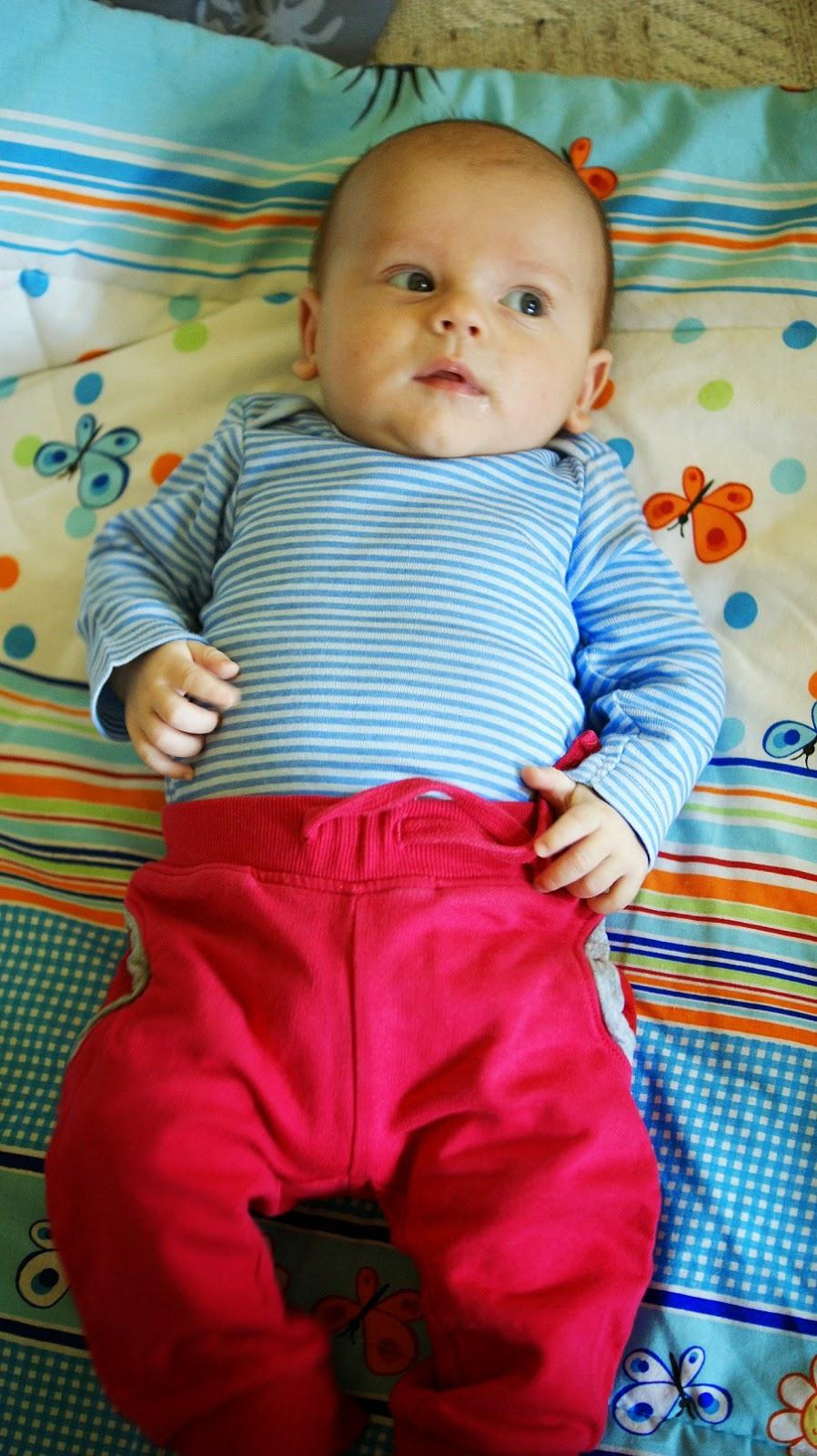 11 tygodniowy niemowlak