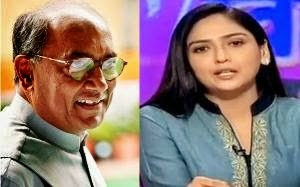 Amrita Rai – Digvijay Singh Relation on Twitter