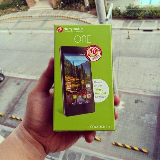 Cherry Mobile One, 4.5-inch Quad Core Lollipop for Php3,999
