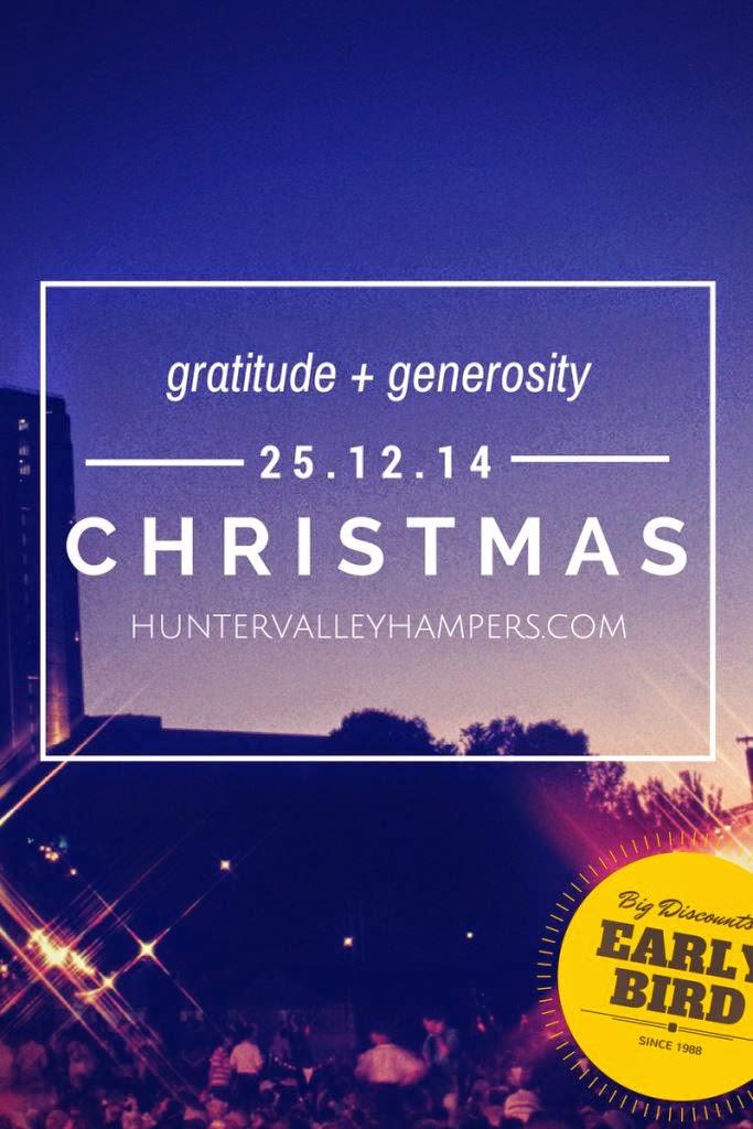 #gratitude and #generosity christmas hampers