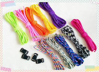 How to make Paracord Bracelet and Ankle Bracelet