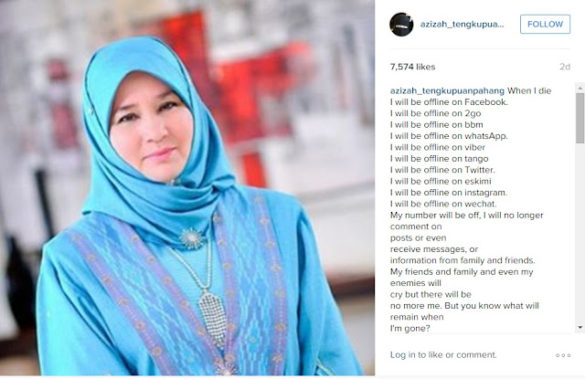 Bila Aku Mati ~ Tengku Ampuan Pahang