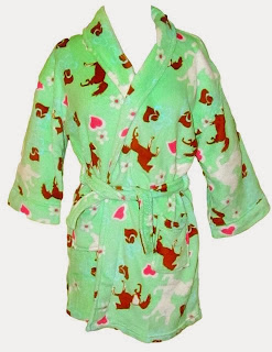 Robe is great gift for girl who loves horses.
