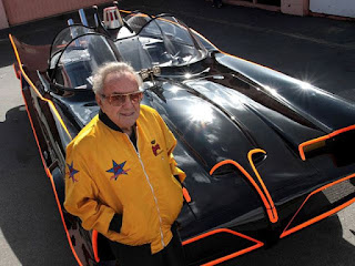 George and Batmobile