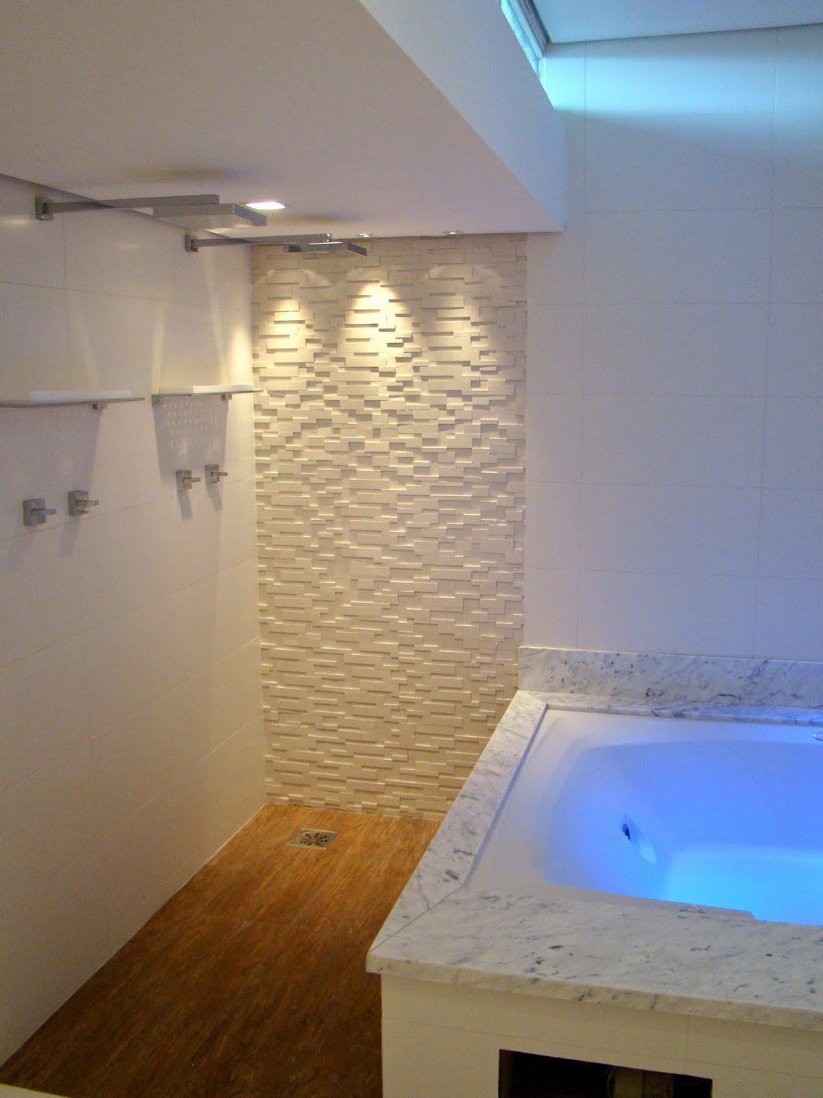 segunda feira 16 de maio de 2011 #027AC9 1200x1600 Banheiro Com Porcelanato Carrara