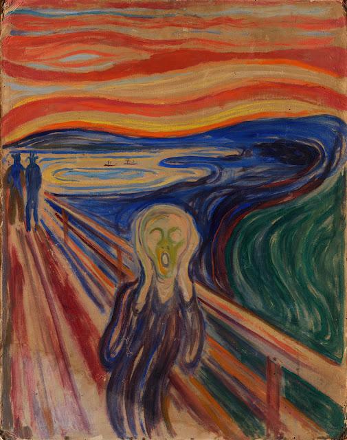 Skriget af Edvard Munch (1910)