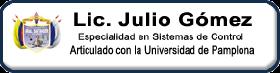 Página del Profesor Julio Gómez Sist. Control