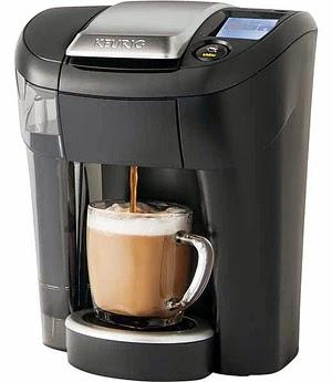 The Keurig Vue V500 Brewing System