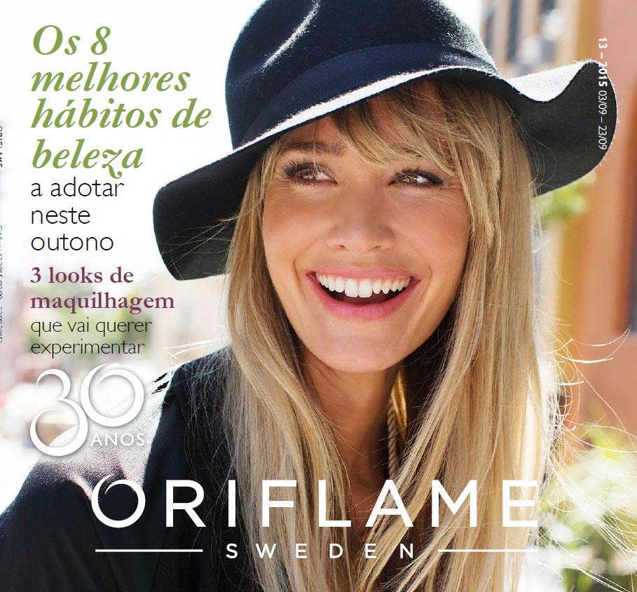 Catálogo 13 de 2015 da Oriflame