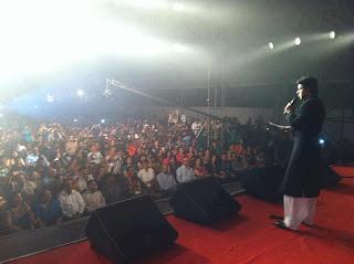 Shaharukh Khan at Vashi Durga Puja Mumbai