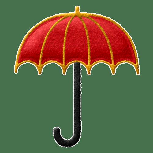 paraguas bordado