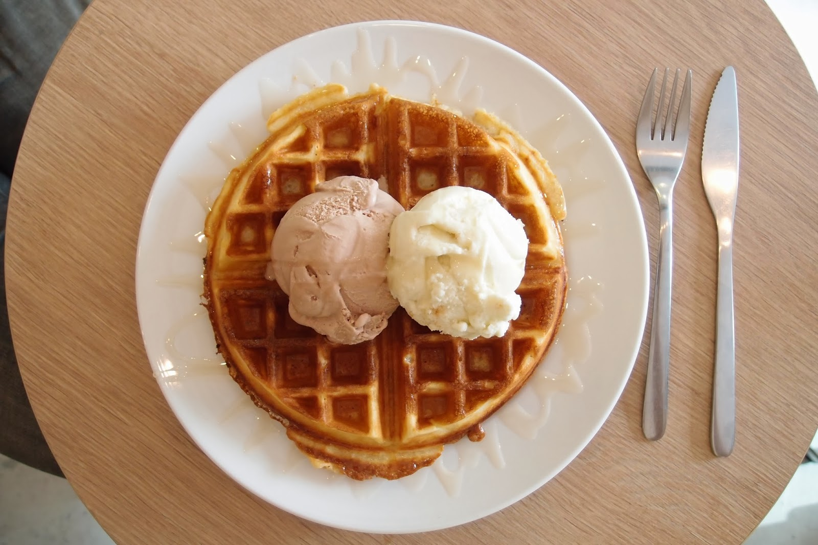 Waffles in East of Singapore