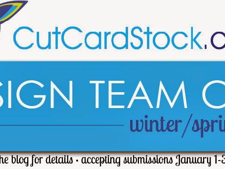 Winter/Spring 2015 Design Team Call