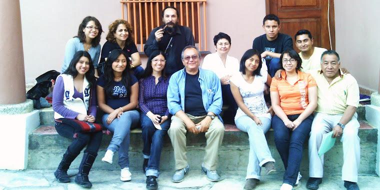Visita de escritores
