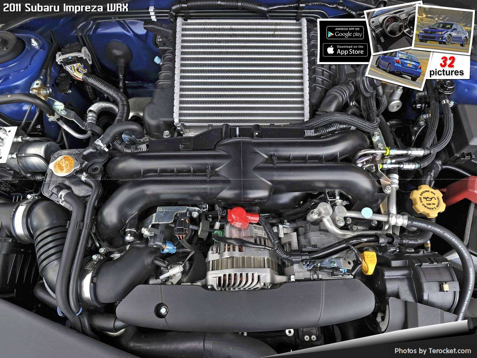 Hình ảnh xe ô tô Subaru Impreza WRX 2011 & nội ngoại thất