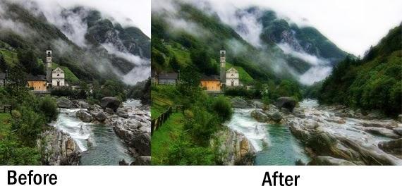 Cara Edit Foto Jadi Lebih Lembut dan Halus (soft focus glamour effect)