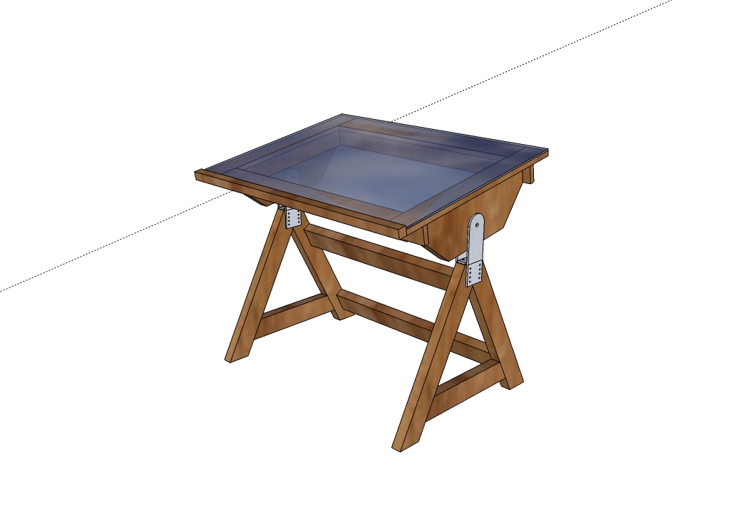 Best woodworking plans free drafting desk plans wooden plans for Blueprint plan table