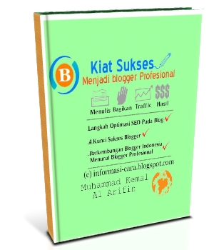 Buku Kiat Sukses Menjadi Blogger Profesional