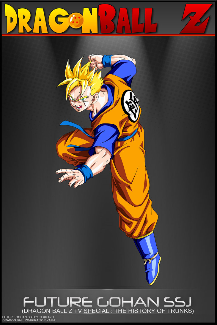 Dragon ball z wallpapers future gohan super saiyan - Dragon ball z gohan images ...