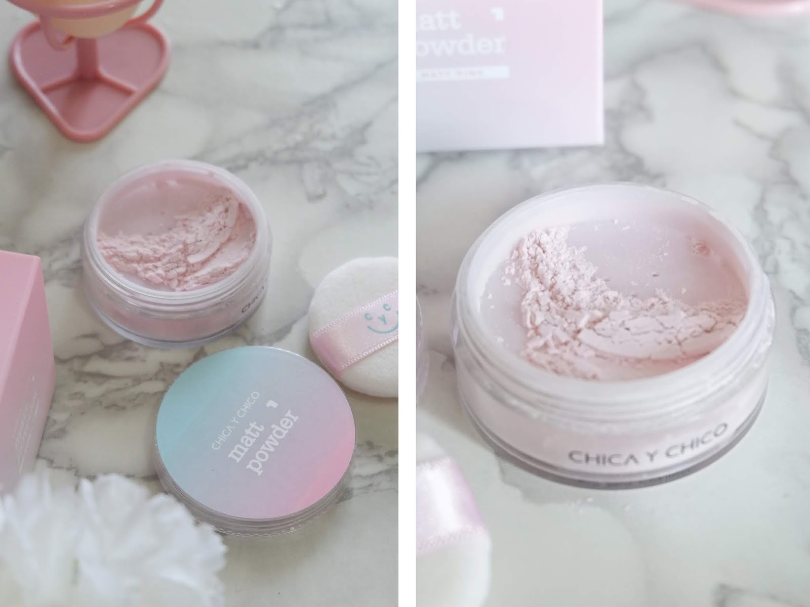 CHICA Y CHICO MATT PINK POWDER REVIEW