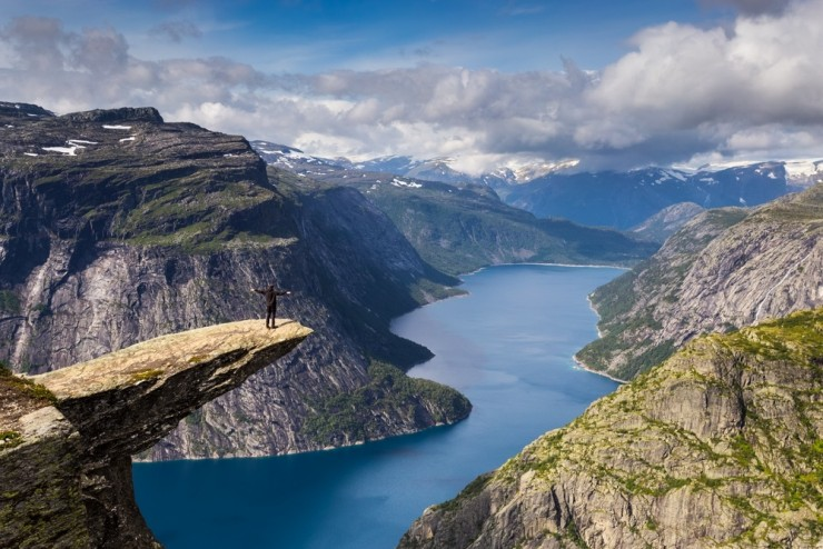 8. Trolltunga, Hardanger - Top 10 Things to See and Do in Norway
