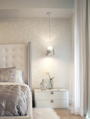 the glam pad glamorous white bedrooms. Black Bedroom Furniture Sets. Home Design Ideas