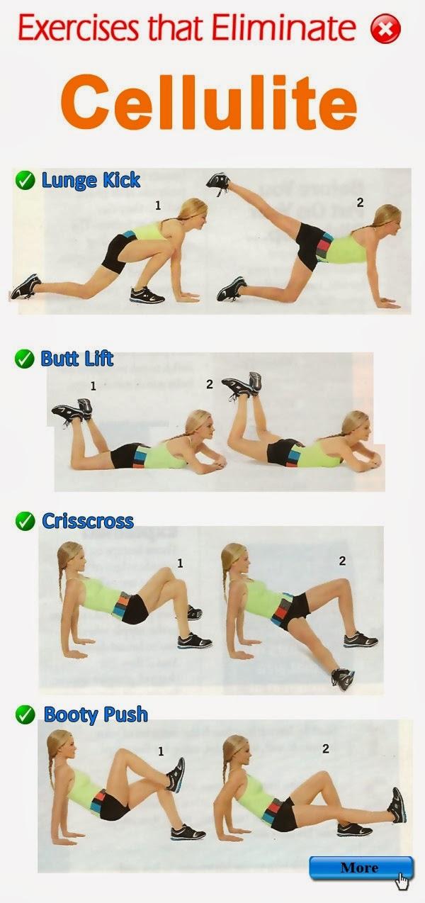 Exercices pour eliminer la cellulite