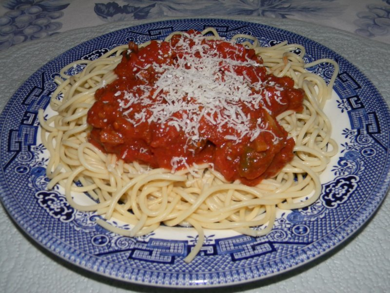 Homeward Bound: Mom's Spaghetti Sauce