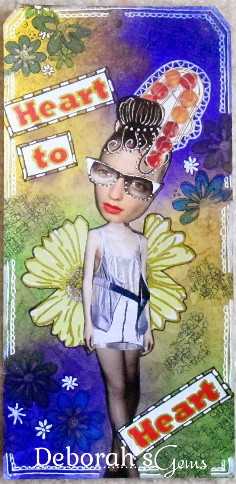 Cool Tag Lady - photo by Deborah Frings - Deborah's Gems