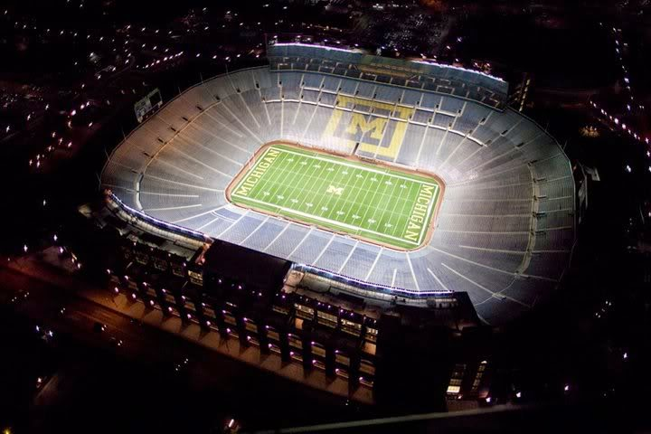 University of Michigan Board of Regents turn down request for fireworks after Wolverine home games at Michigan Stadium.