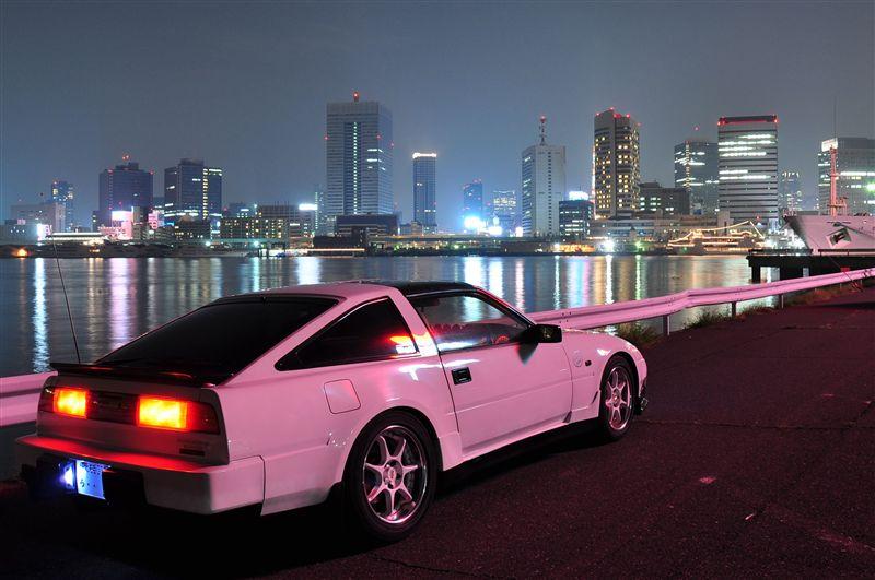 日本車, 日産, クラシックカー, Nissan 300ZX Z31 Fairlady Z, stary japoński samochód, youngtimer, JDM, sportowy, zdjęcia, fotki