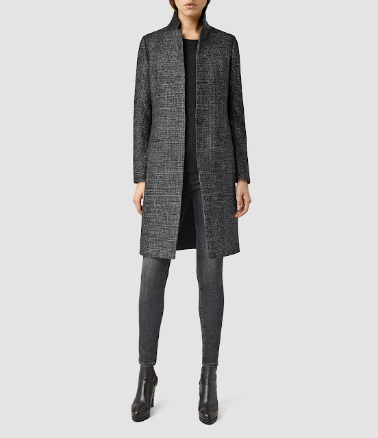 all saints jai coat,