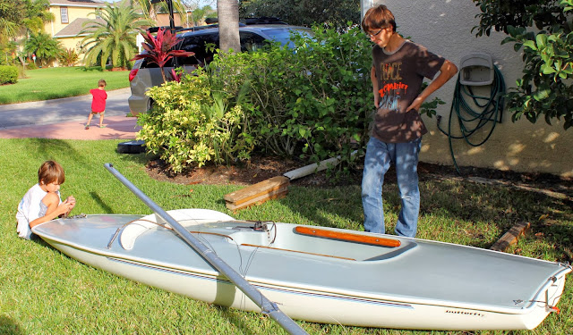 Because I'm Me, Butterfly sailboat, a nice one-design boat to learn on and enjoy, for kids and adults