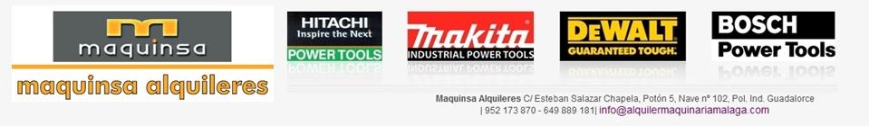Alquiler de maquinarias en malaga alquiler de maquinar a for Bosch malaga