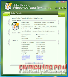 Stellar Phoenix Windows Data Recovery Professional 5.0.0.0 Full Serial Number / Key