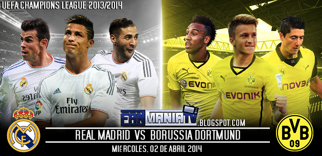 Ver Online Real Madrid Vs Borussia Dortmund Uefa | Auto Design Tech