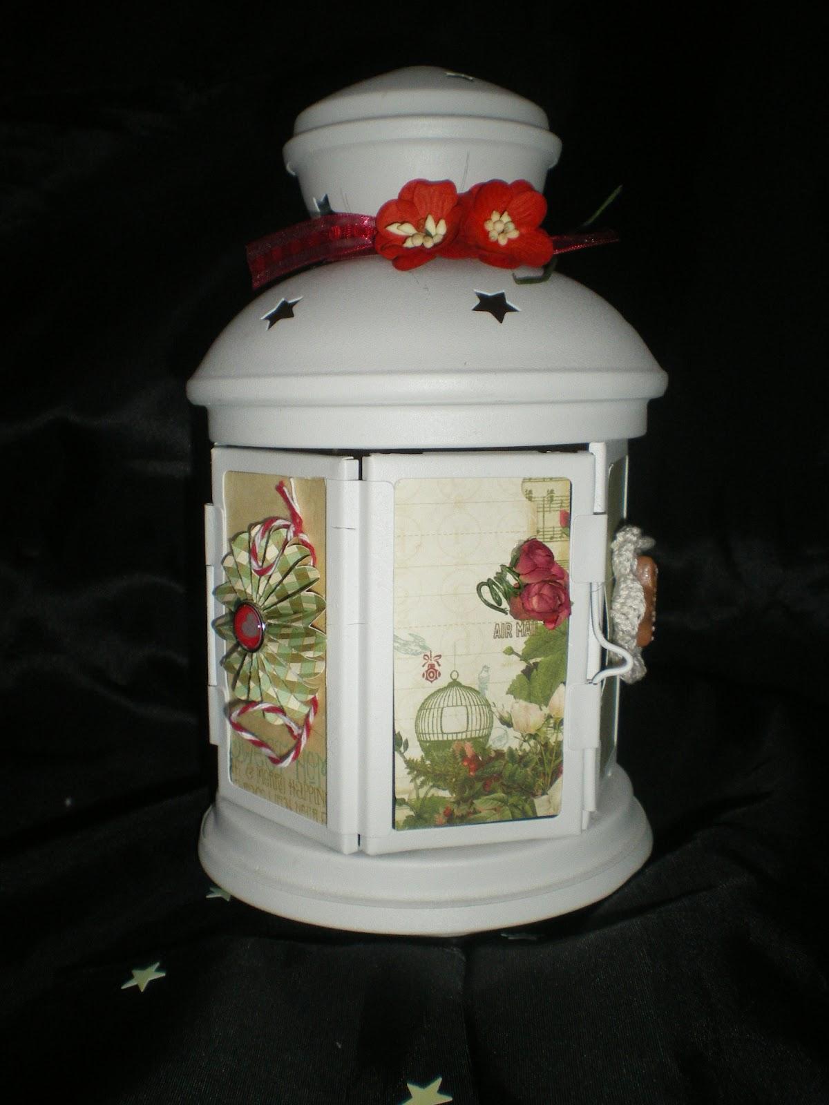 Scrapcreationeve une lanterne - Lanterne papier ikea ...