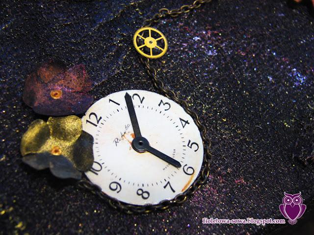 Steampunkowy zegar