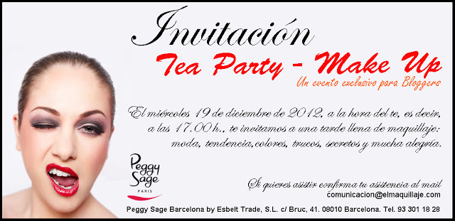 Potis de Colores: Tea Party Make Up