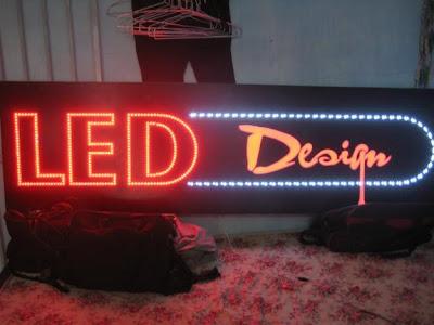 Nhận làm đèn LED, bảng hiệu LED