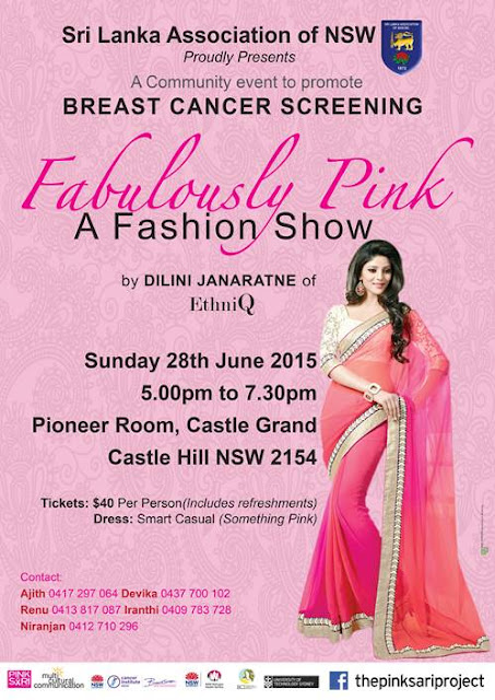 Fabulously Pink fashion show for breast cancer screening awareness