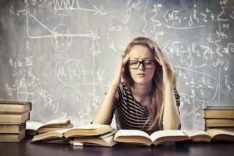 Estudiando para el colegio