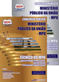 Apostila MPU - Ministério Público da União 2015.