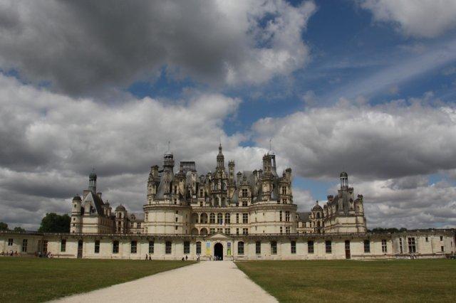 Chateau Castillo de Chambord en el Valle del Loira