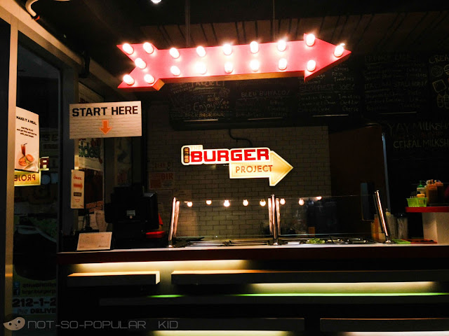 The Burger Project near Taft Avenue