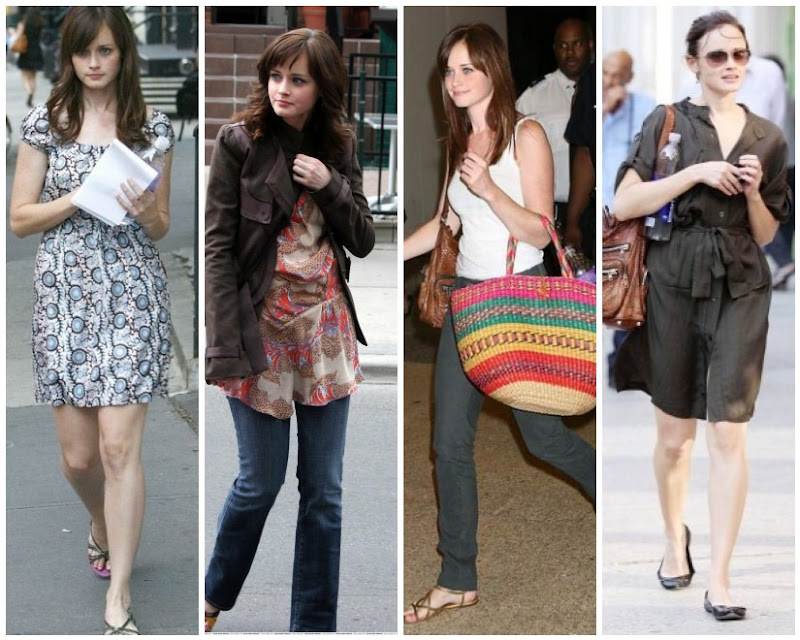 Alexis Bledel Casual Style