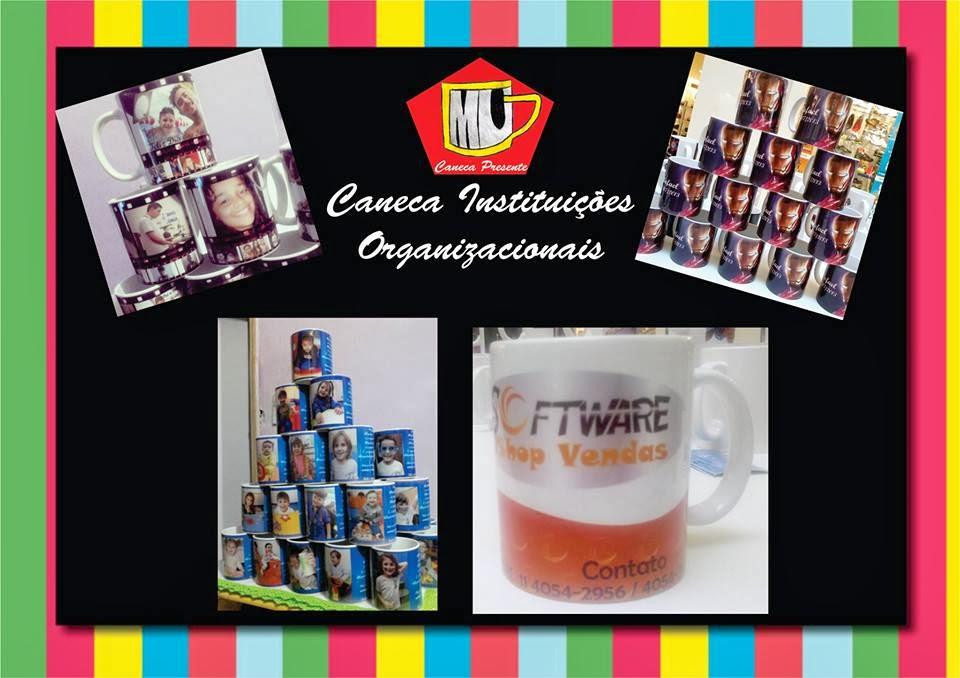 Foto Presente em Canecas