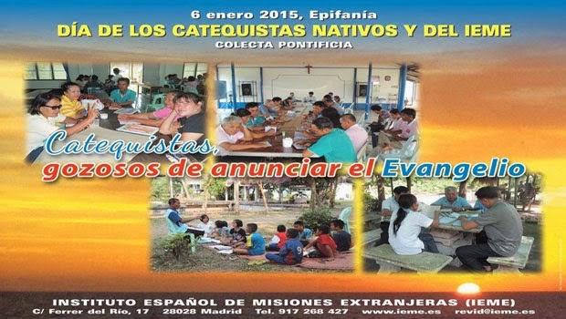 Cartel_Jornada_Epifanía_Lema_Catequistas gozosos de anunciar el Evangelio