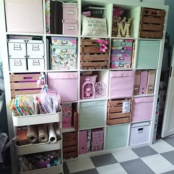 Хранение материалов - купить товары для скрапбукинга в