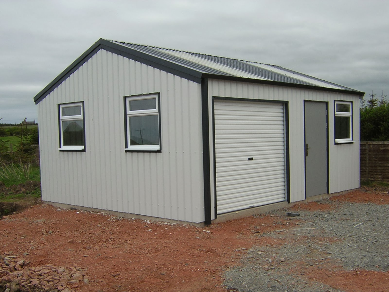 Steel shed buildings questions youll need to have ahead for Steel garage plans